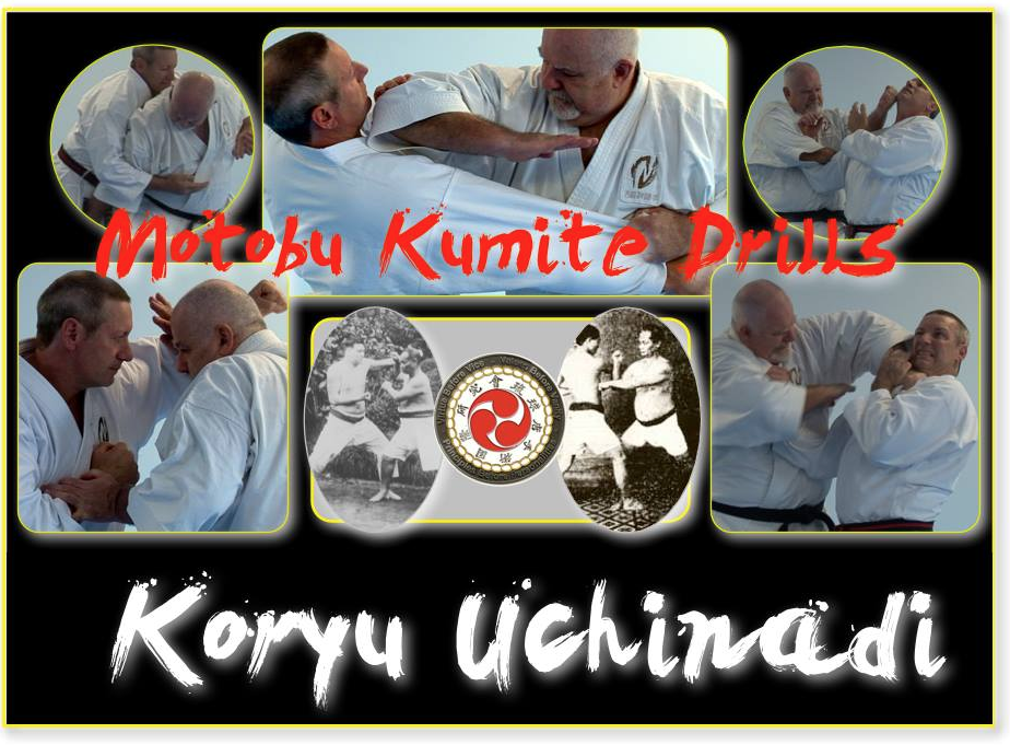 Now available at $14.95 USA The 12 Motobu Kumite drills, and KU henka [variations] are presented in four different views: 2 traditional and 2 representing the Koryu Uchinadi variations. The video runs approximately 30 minutes and includes a close up and slow motion feature for the more intricate techniques. Available through Paypal c/o patrick_mccarthy@mac.com